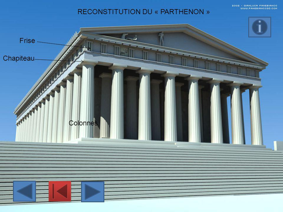 RECONSTITUTION DU « PARTHENON »