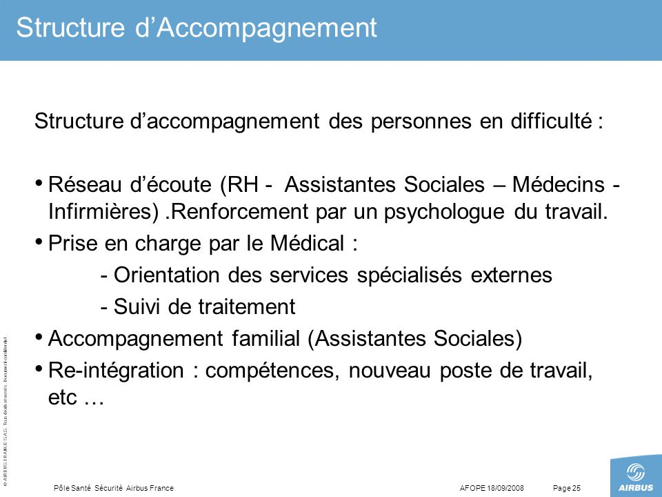 Structure d'Accompagnement