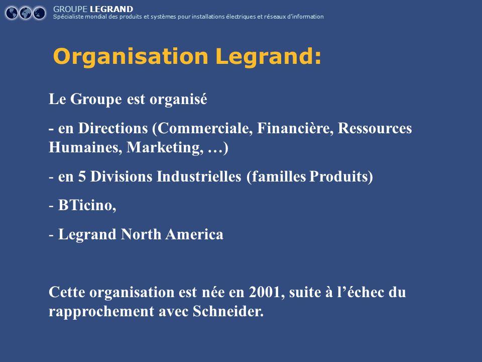 Organisation Legrand: