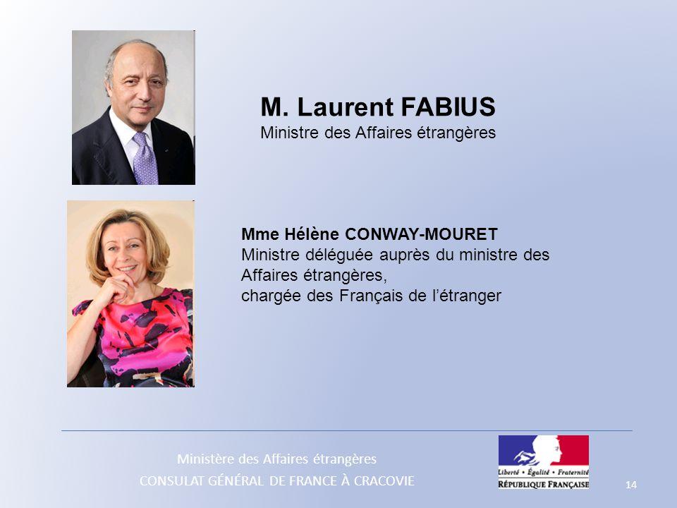 Ministre des Affaires étrangères
