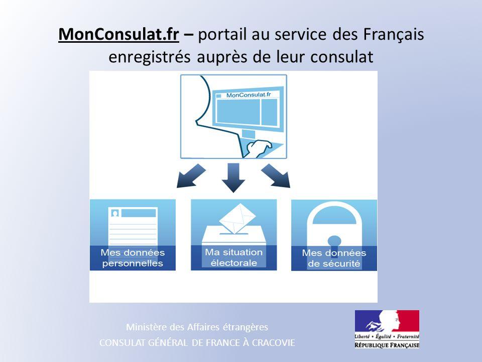 MonConsulat.fr – portail au service des Français enregistrés auprès de leur consulat