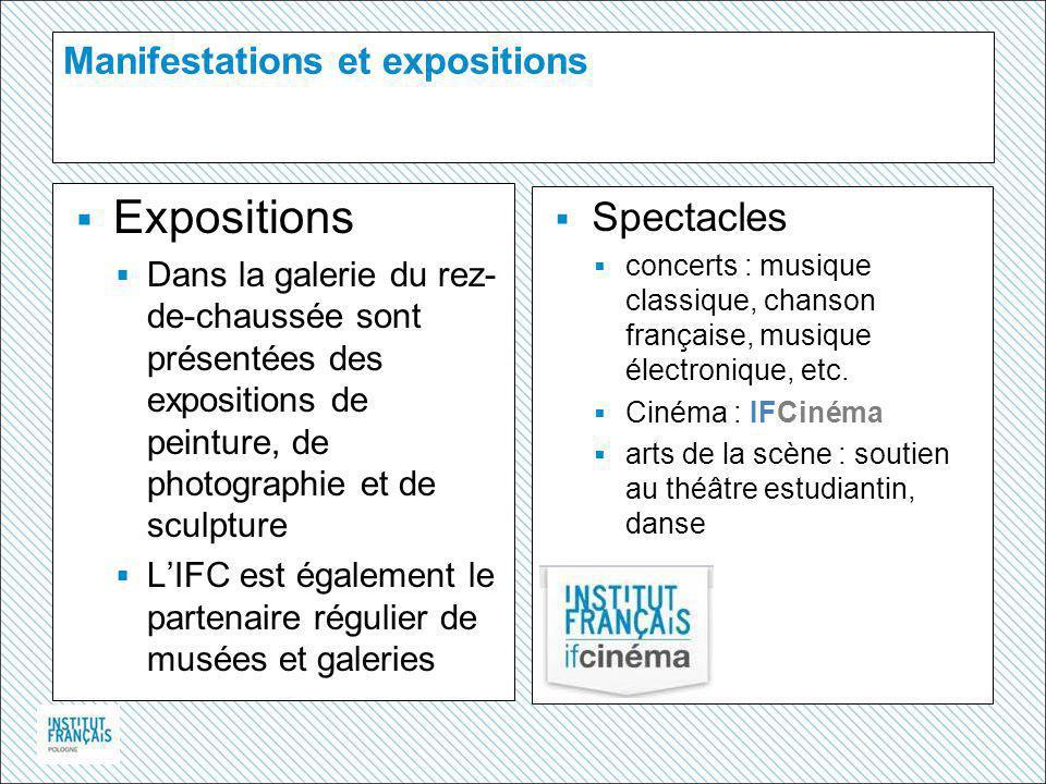 Manifestations et expositions