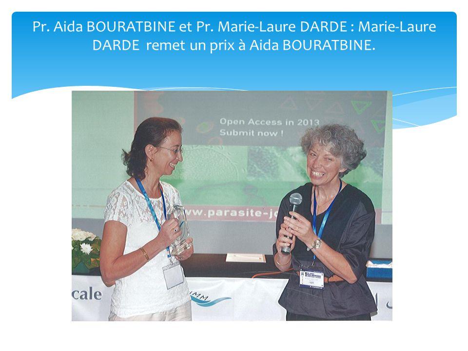 Pr. Aida BOURATBINE et Pr