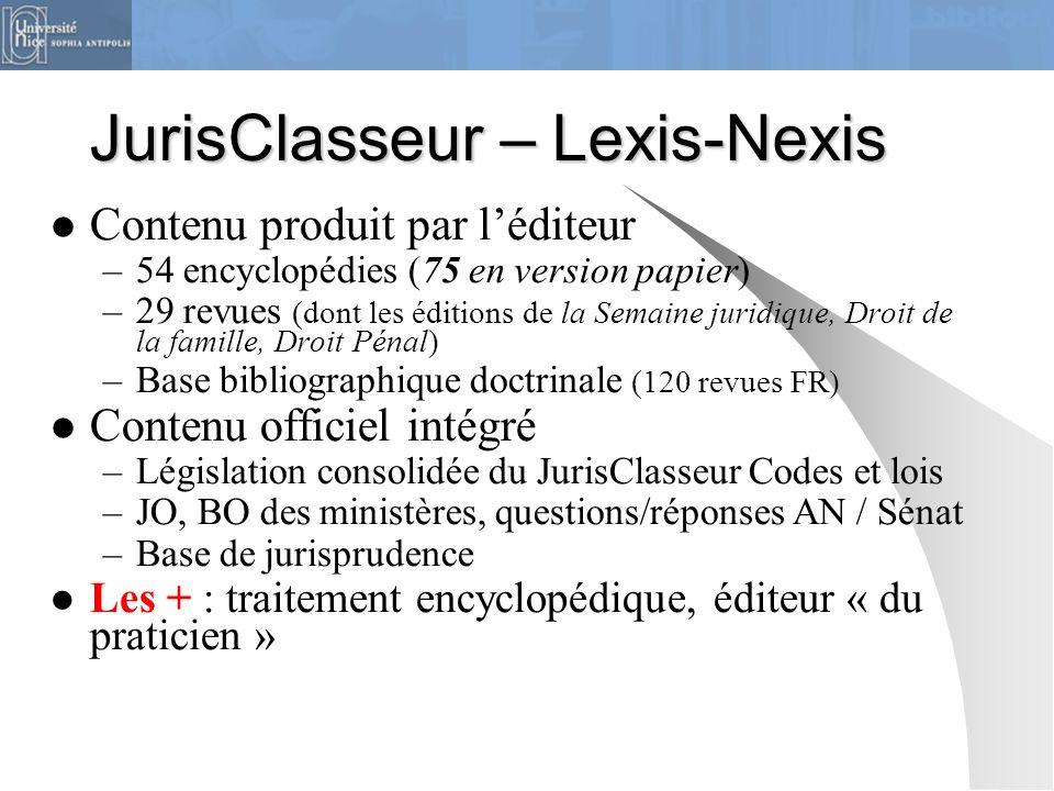 JurisClasseur – Lexis-Nexis