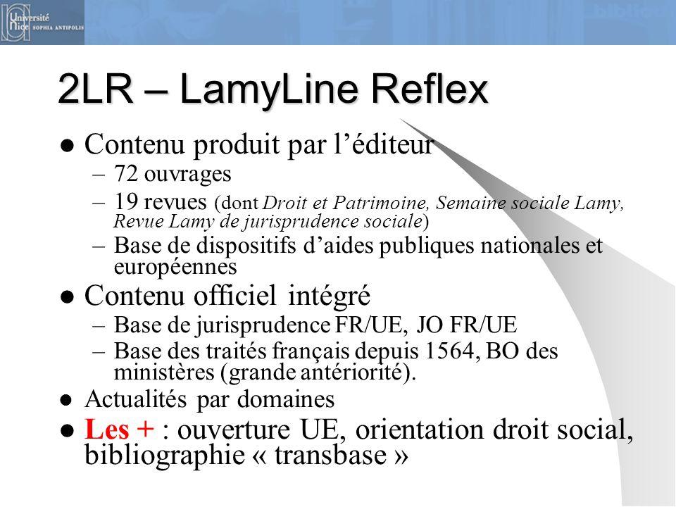 2LR – LamyLine Reflex Contenu produit par l'éditeur
