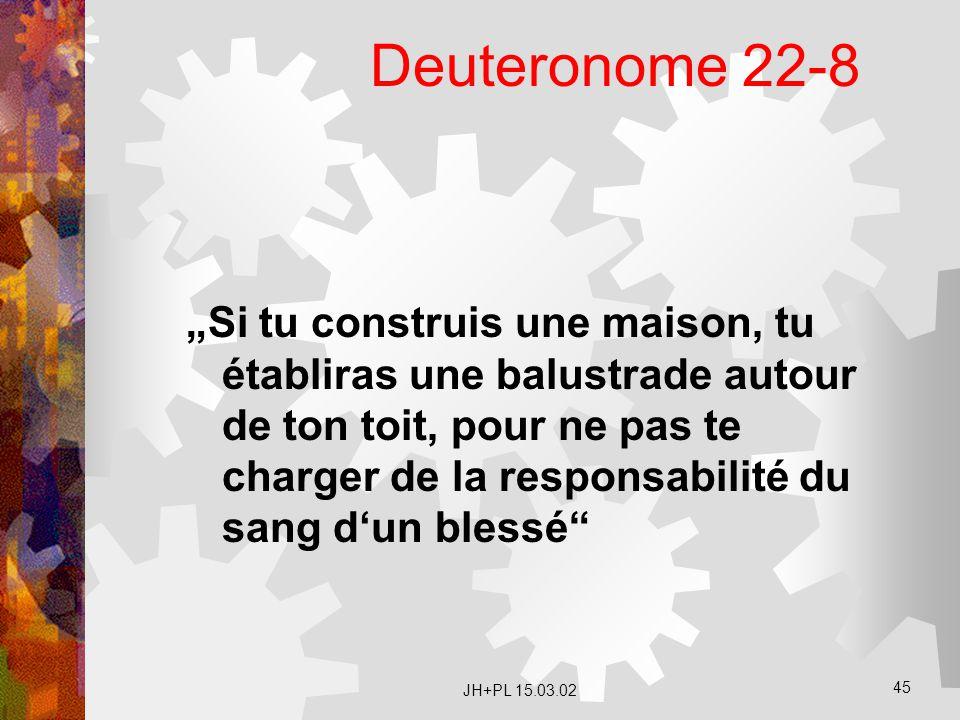 Deuteronome 22-8