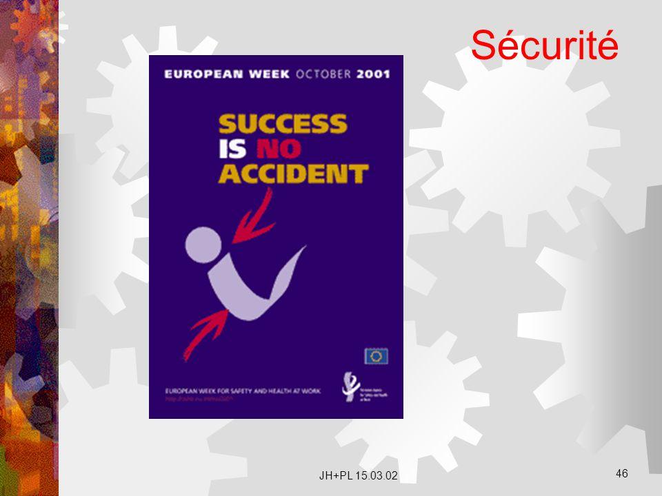 Sécurité JH+PL 15.03.02