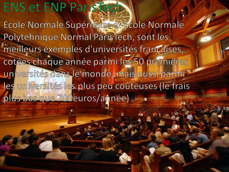 ENS et ENP ParisTech