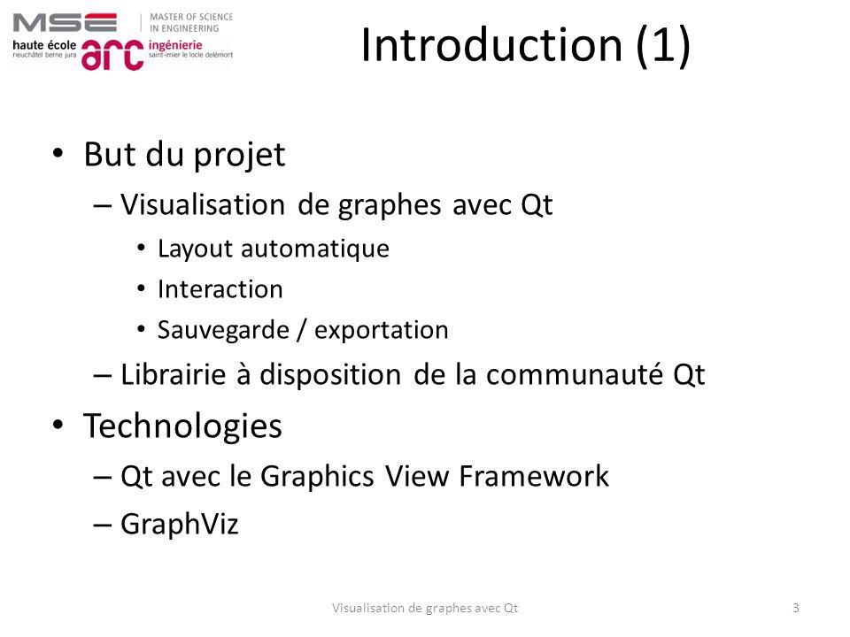 Visualisation de graphes avec Qt
