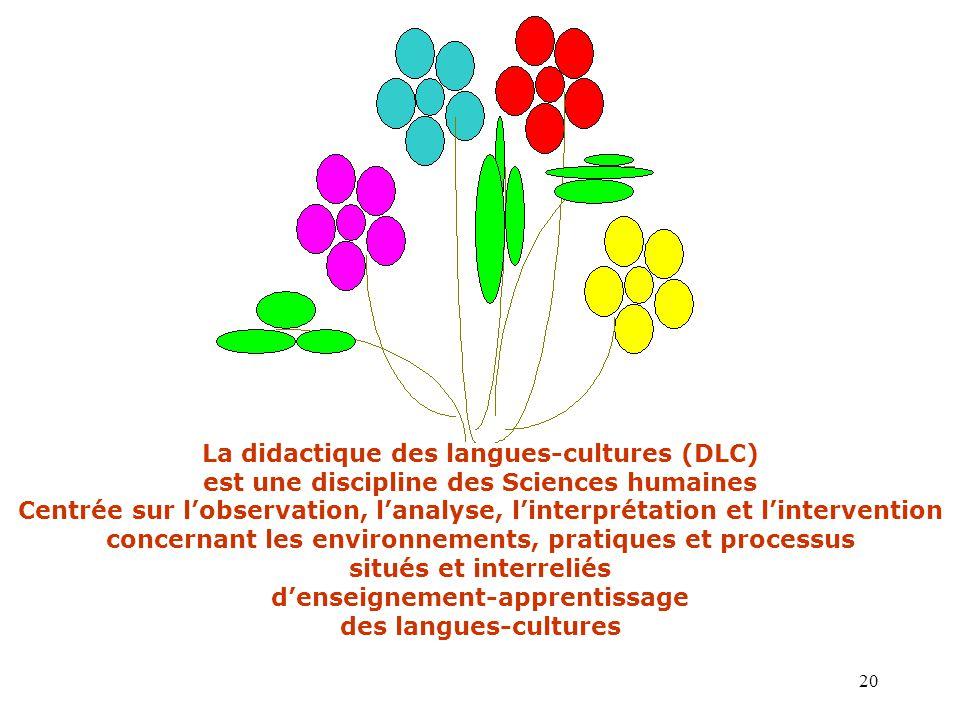 La didactique des langues-cultures (DLC)