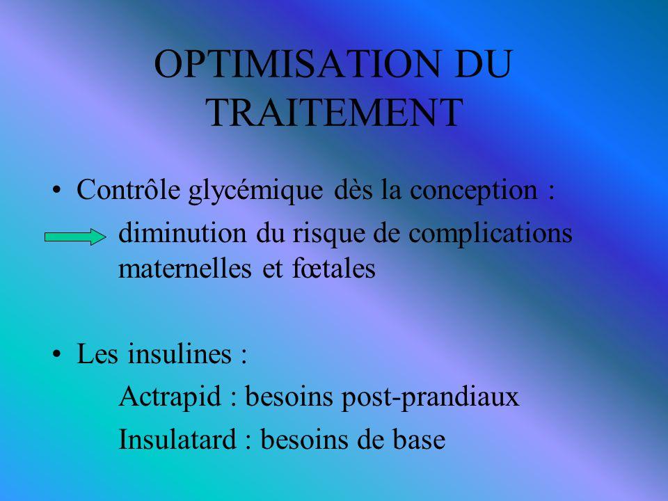 OPTIMISATION DU TRAITEMENT
