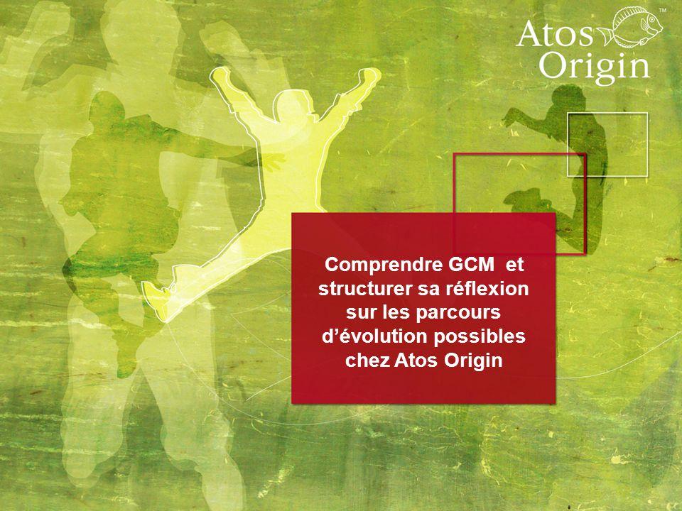 Comprendre GCM et structurer sa réflexion sur les parcours d'évolution possibles chez Atos Origin