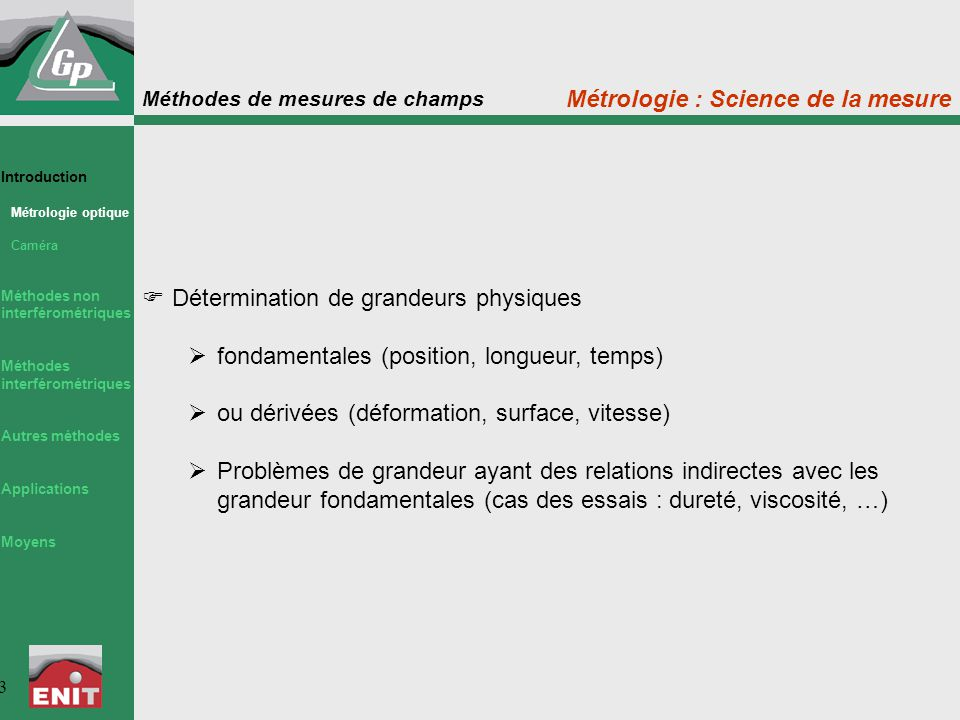 Métrologie : Science de la mesure