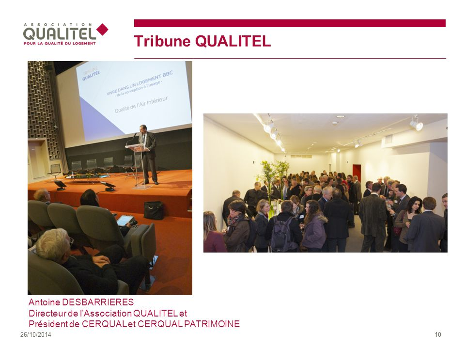 Tribune QUALITEL Antoine DESBARRIERES