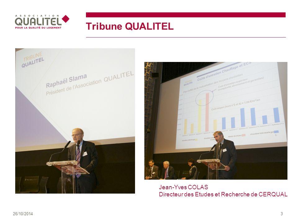 Tribune QUALITEL Jean-Yves COLAS