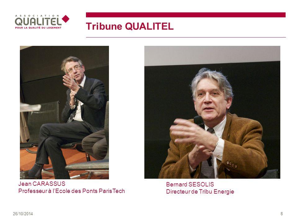 Tribune QUALITEL Jean CARASSUS Bernard SESOLIS