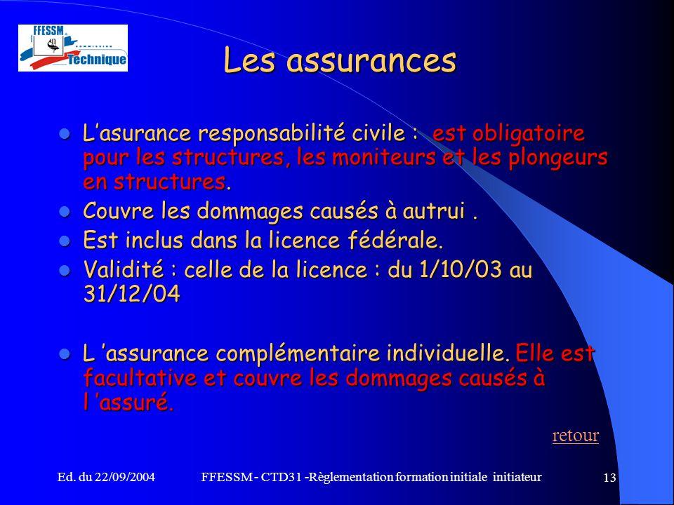 ffessm - ctd31 -r u00e8glementation formation initiale initiateur
