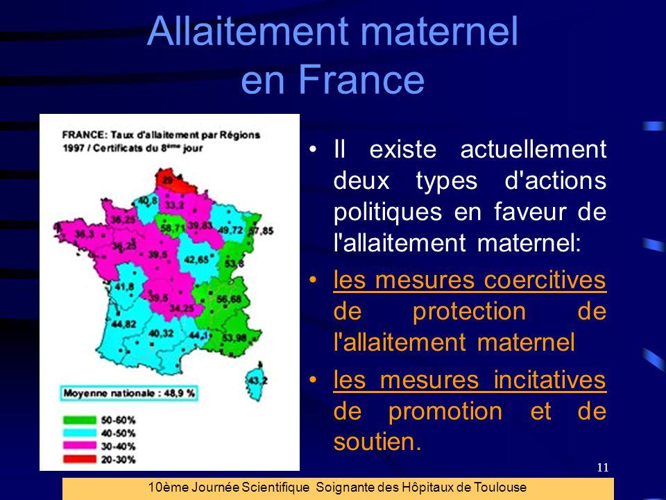 Allaitement maternel en France