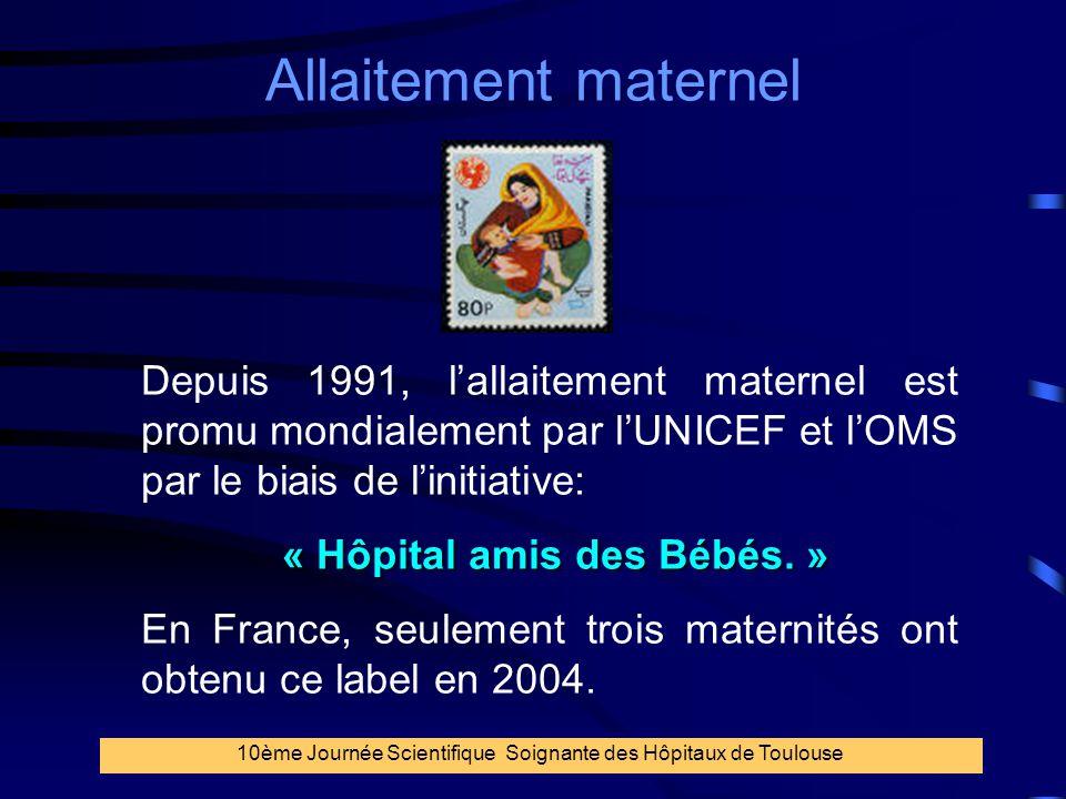 « Hôpital amis des Bébés. »