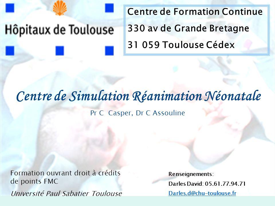 Centre de Simulation Réanimation Néonatale