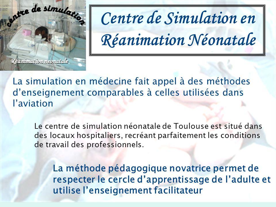 Centre de Simulation en Réanimation Néonatale