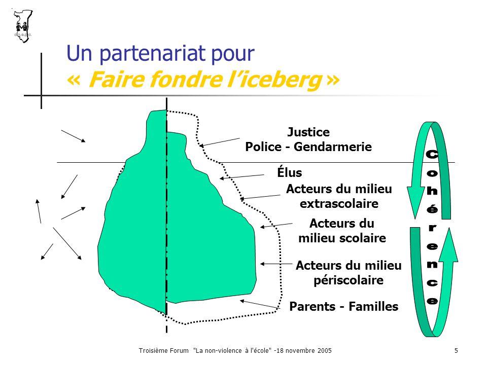 Un partenariat pour « Faire fondre l'iceberg »