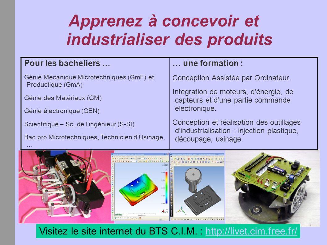 Apprenez à concevoir et industrialiser des produits