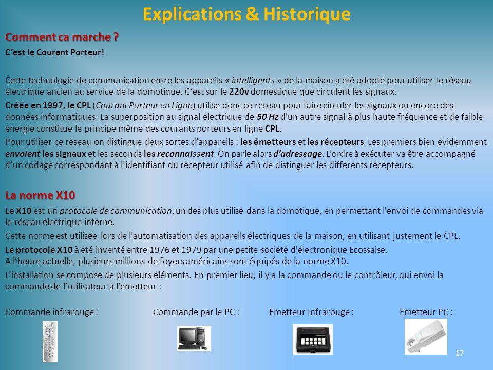 Explications & Historique