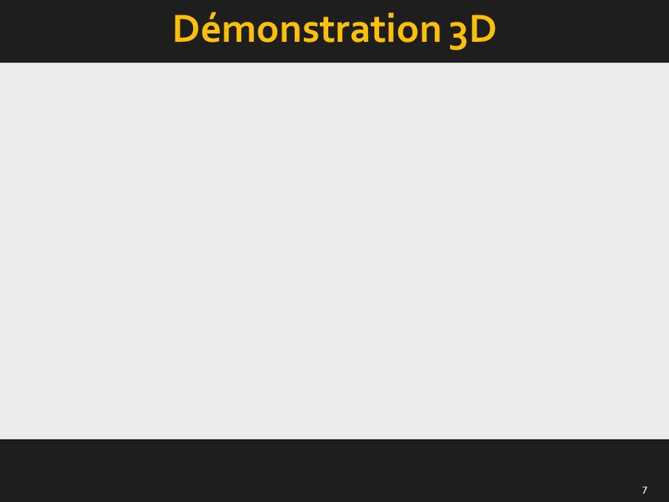 Démonstration 3D