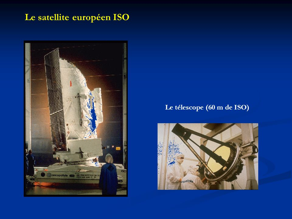 Le satellite européen ISO