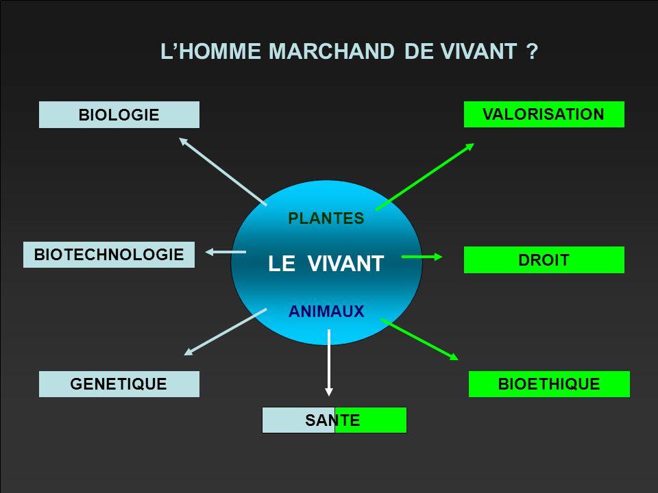 L'HOMME MARCHAND DE VIVANT