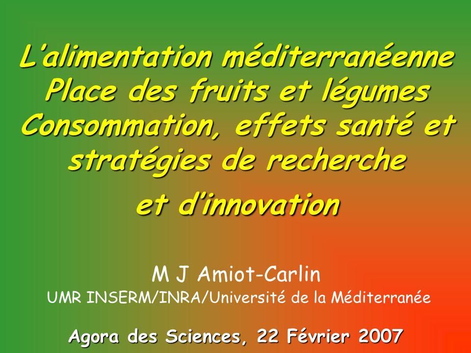 INRA-SIA 2004/ Qualité des fruits : questions à la recherche