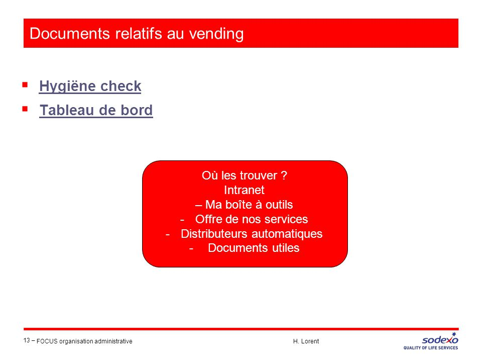 Documents relatifs au vending