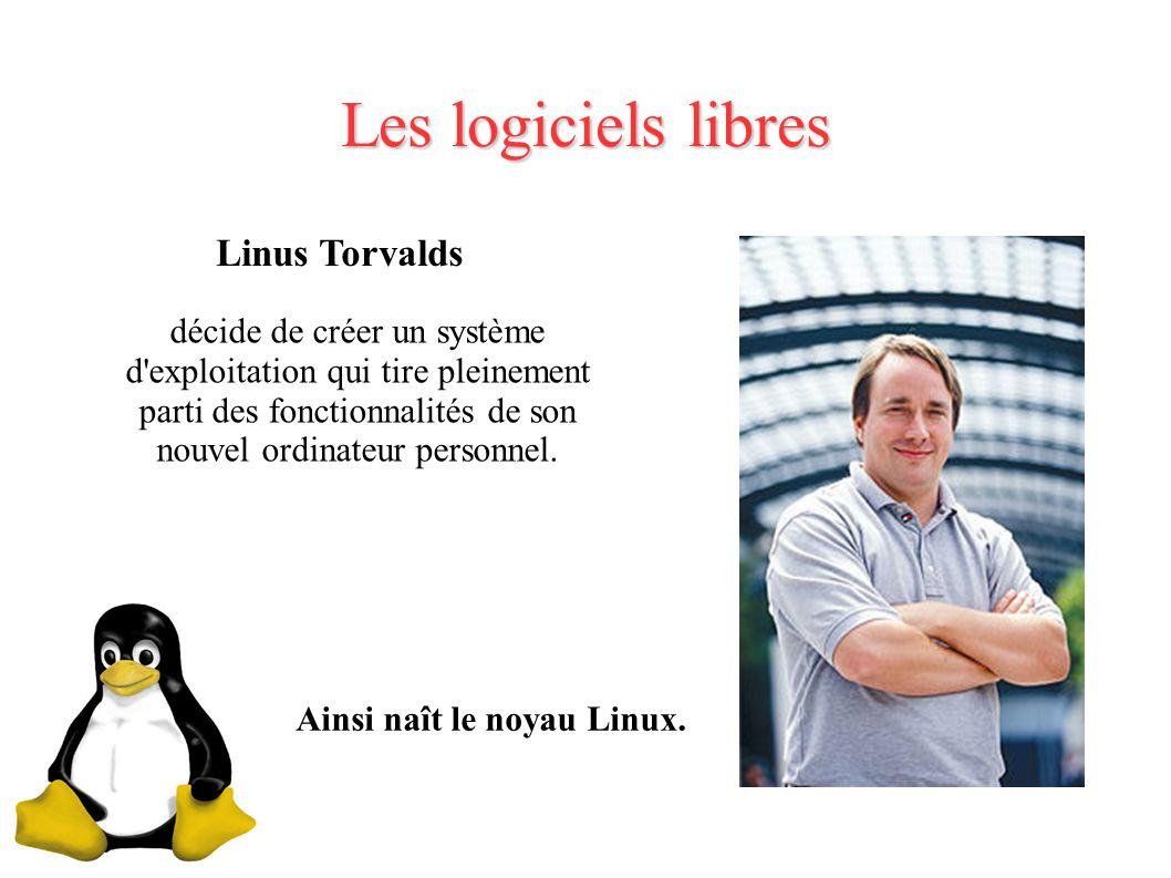 Les logiciels libres Linus Torvalds