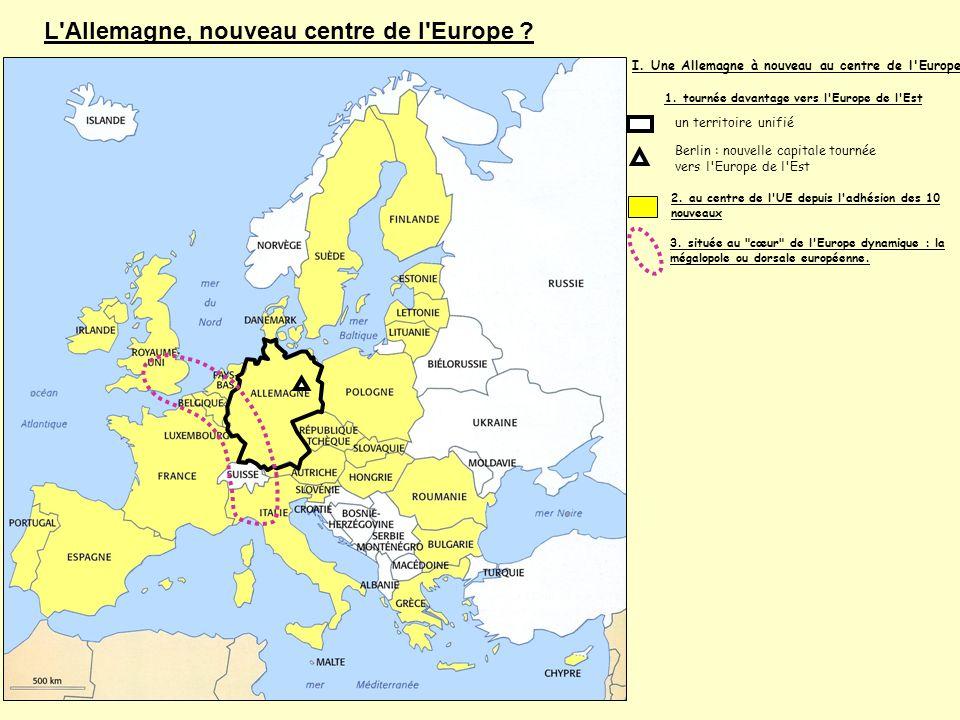 L Allemagne, nouveau centre de l Europe