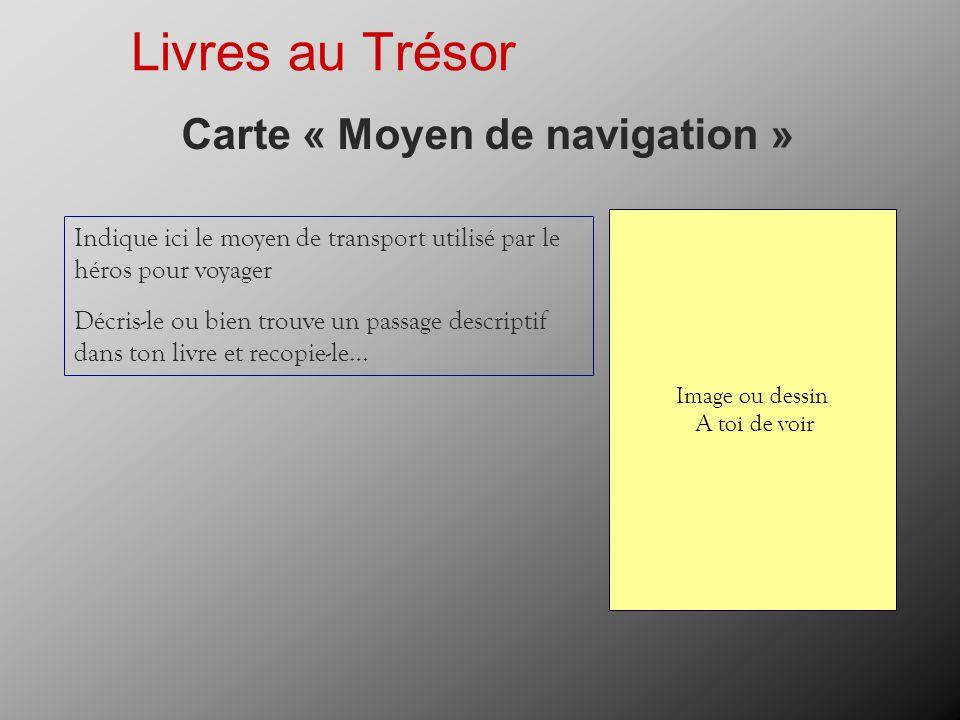 Carte « Moyen de navigation »