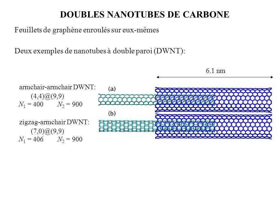 DOUBLES NANOTUBES DE CARBONE