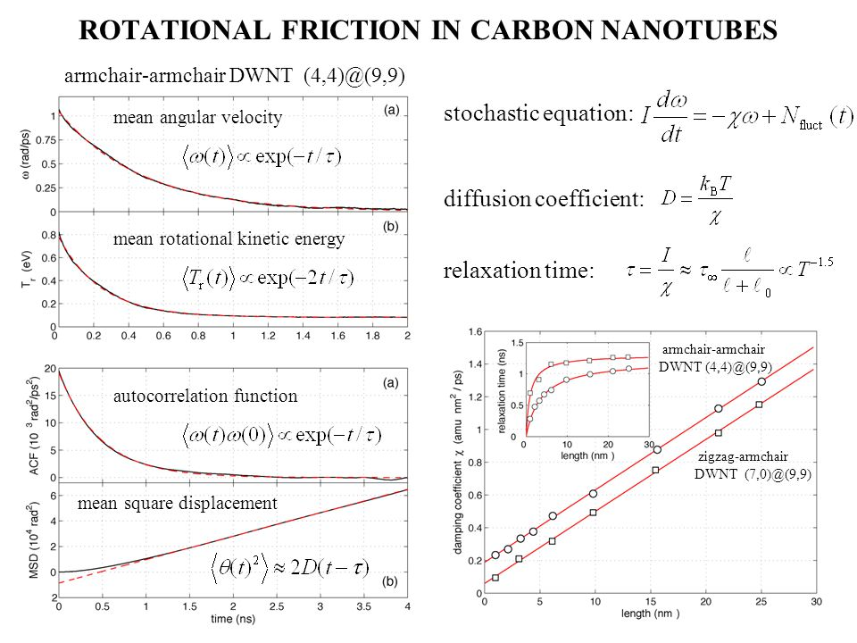 ROTATIONAL FRICTION IN CARBON NANOTUBES
