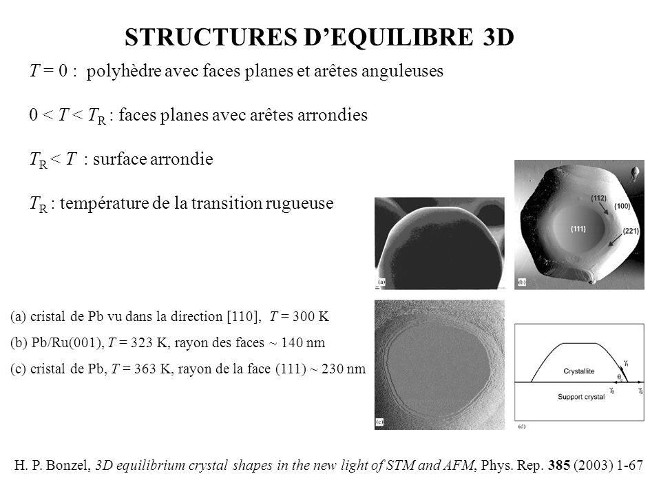 STRUCTURES D'EQUILIBRE 3D