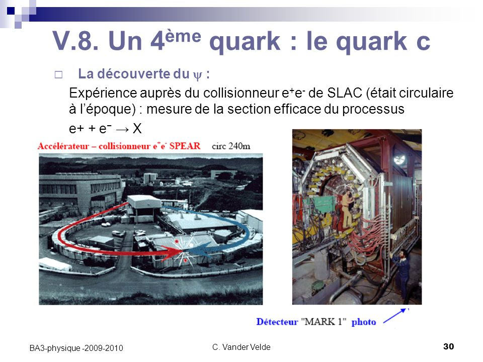V.8. Un 4ème quark : le quark c