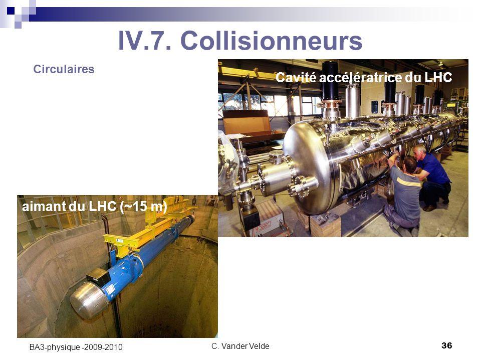 Cavité accélératrice du LHC