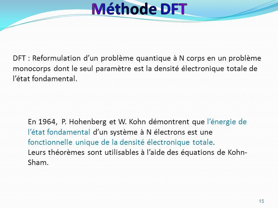 Méthode DFT