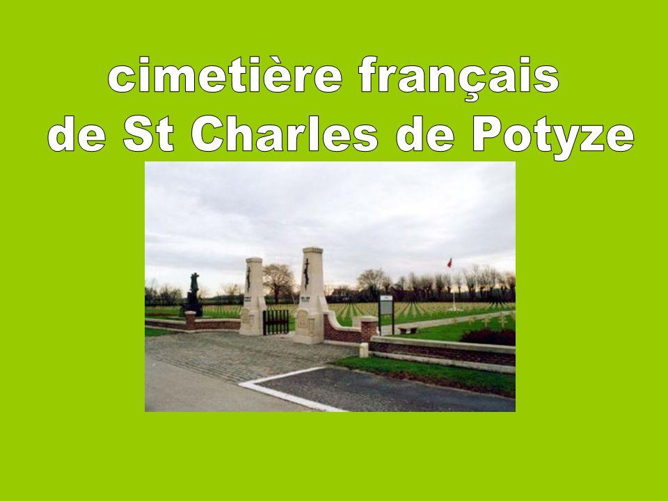 cimetière français de St Charles de Potyze