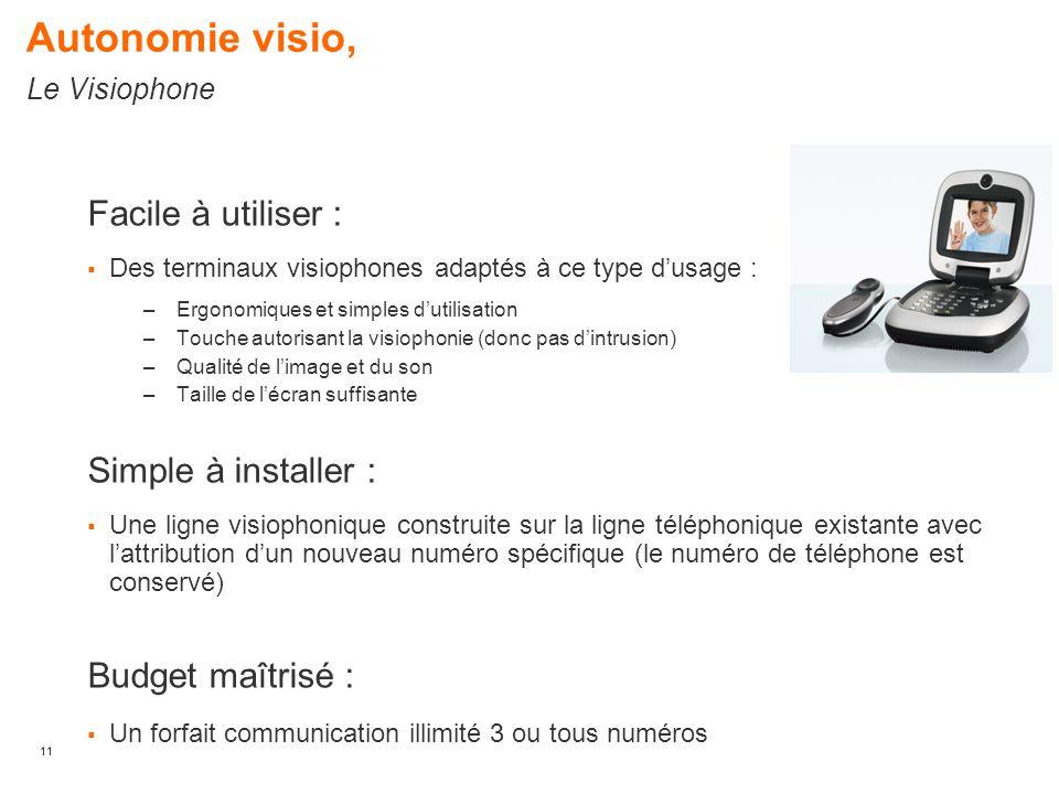 Autonomie visio, Le Visiophone