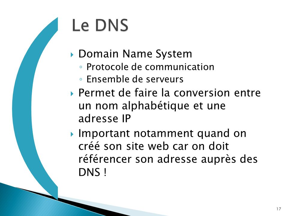 ( Le DNS Domain Name System