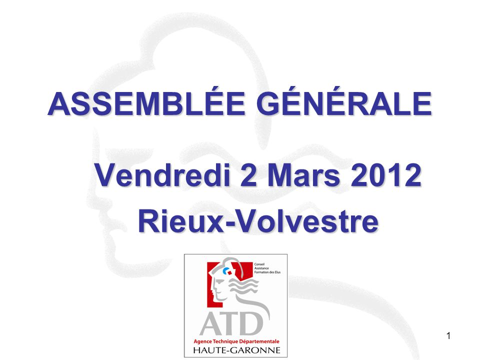 Vendredi 2 Mars 2012 Rieux-Volvestre
