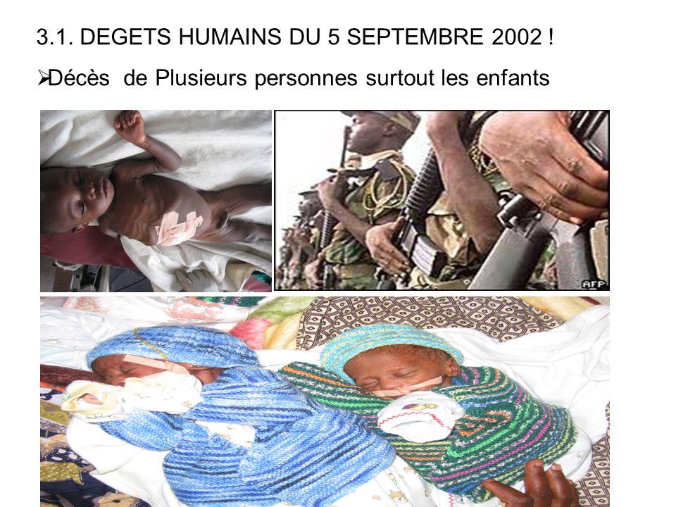 3.1. DEGETS HUMAINS DU 5 SEPTEMBRE 2002 !