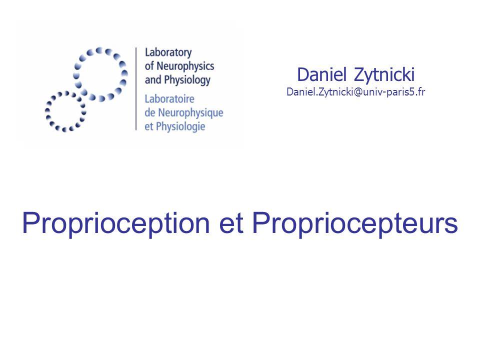 Proprioception et Propriocepteurs