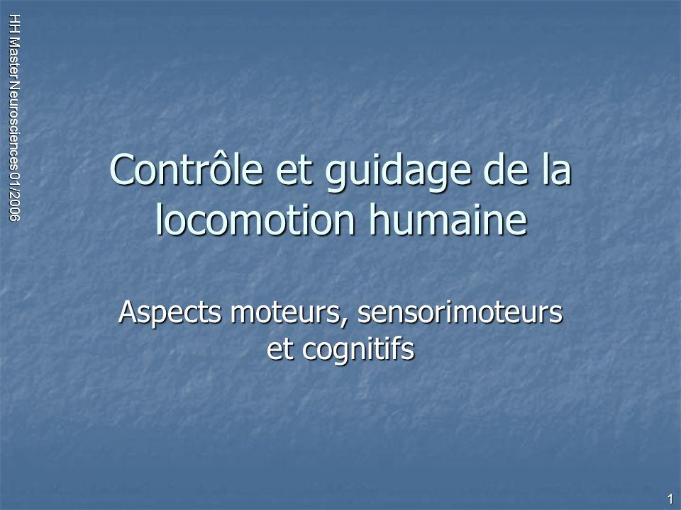 Contrôle et guidage de la locomotion humaine