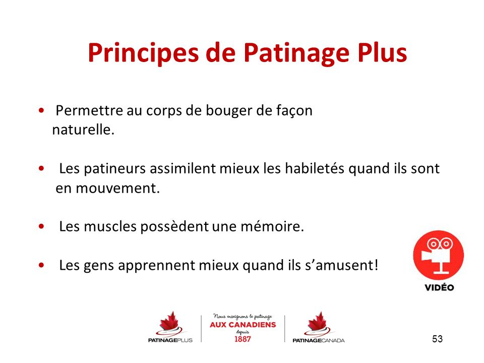 Principes de Patinage Plus